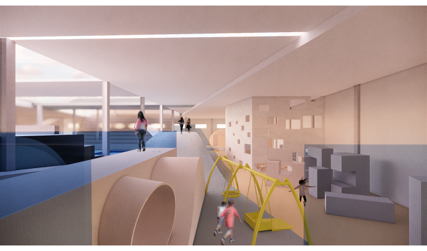 Boys & Girls Club by Xie Maggie Hill for Tamie Glass' Design III