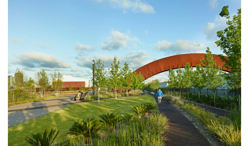 Crescent Park, New Orleans, Hargreaves Associates