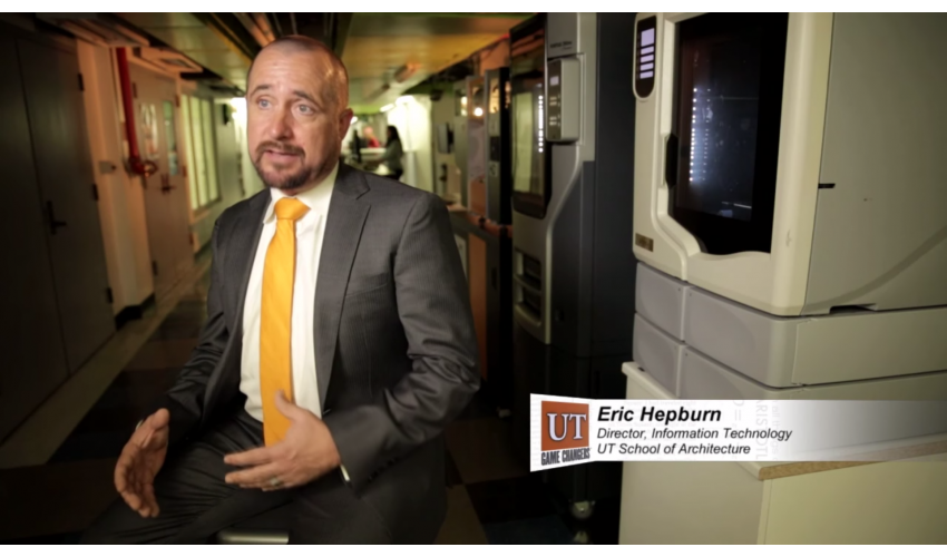 Eric Hepburn on Longhorn Network's Game Changers series