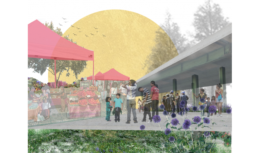 Sobrante Gardens by Taylor Davis, completed in the Fall 2020 Planting Justice MLA Advanced Studio I taught by Surface Design