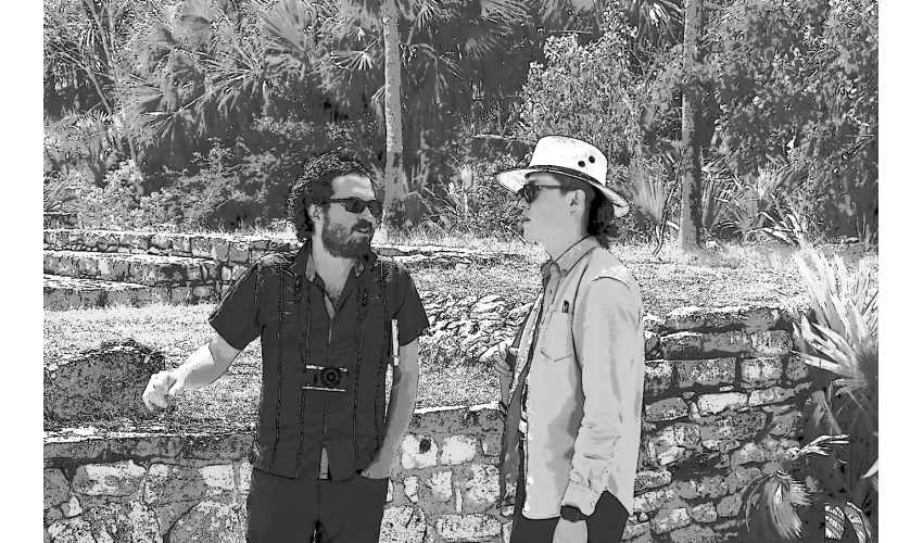Yi Song and Gabriel Diaz Montemayor on Site