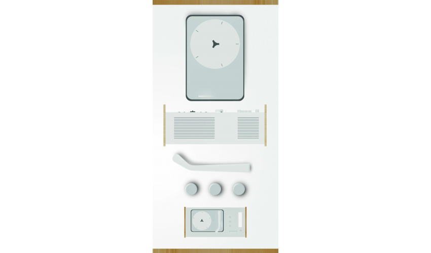 Project: SK4 Record Player | Designer: Dieter Rams | Student: Nathan Fyock
