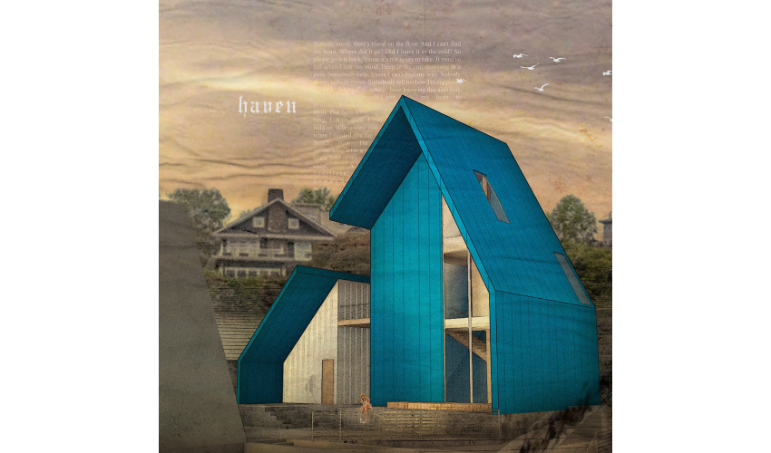 "Rendering of Britny Hernandez's award-winning ""haven"" project"
