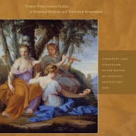 The cover of Bene's book Clio in the Italian Garden: Twenty-First-Century Studies in Historical Methods and Theoretical Perspectives