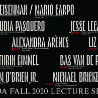 Fall 2020 Lecture Series Poster