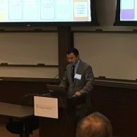 Junfeng Jiao Presenting at Energy @ UT Expo