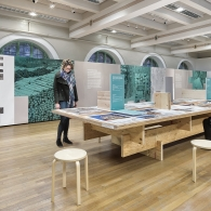 Ulrich Dangel's Time for Timber Exhibition in Goldsmith Hall