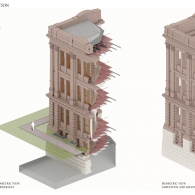 Stories in Stone: Texas State Capitol 1882-1888 Corner bay study