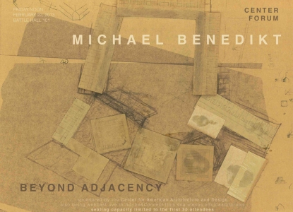 Michael Benedikt - Beyond Adjacency