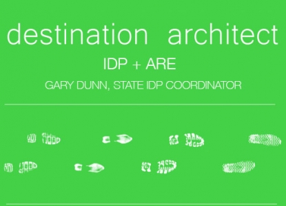 IDP & ARE Talk - Monday September 14 at 6pm in GOL 3.120