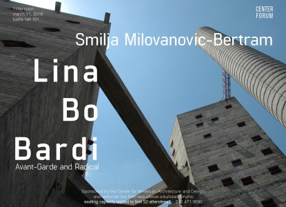 Smilja Milovanovic-Bertram Friday Lunch Forum