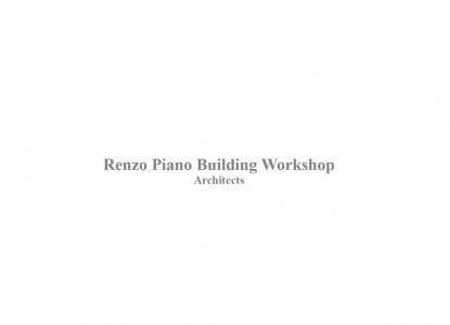 Renzo Piano Interviews - Friday, December 11