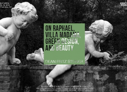 On Raphael, Villa Madana, Green Design, and Beauty