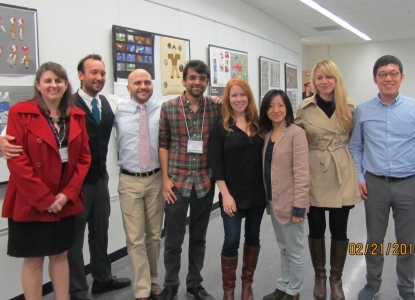 UT students at CHC Symposium poster session