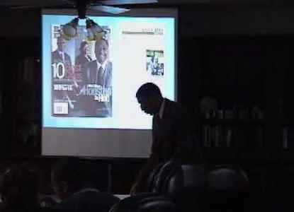 """City Forum: David Padgett, """"An Index for Determining African-American Quality of Life in US Cities"""""""