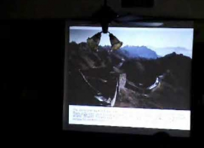 """City Forum: Rui Yang, """"Tourism Impact Management in World Heritage Sites: Great Wall of China,"""" 2006"""