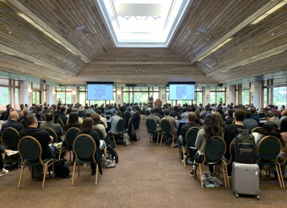 Wide Shot of ACADIA Conference Attendees