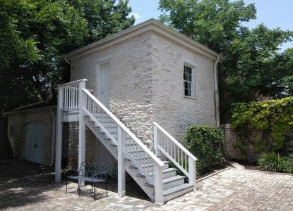 Slave Quarters Building at the Neill-Cochran House Museum