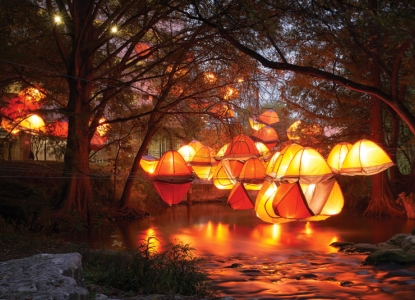"Waller Creek Show ""Tentsion"""