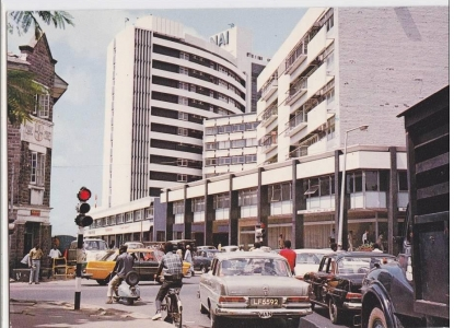 Historic Image of Broad Street, Lagos Island