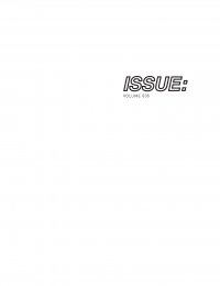 ISSUE: 005 cover
