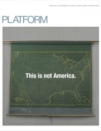 Platform: Inhabiting the Americas, May 2016 cover