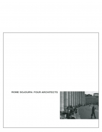 Centerline 3: Rome Sojourn: Four Architects cover